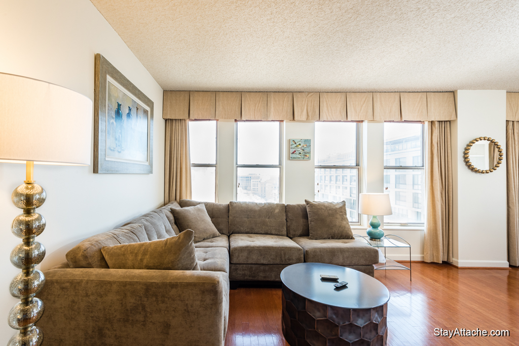 Furnished one bedroom near the White House