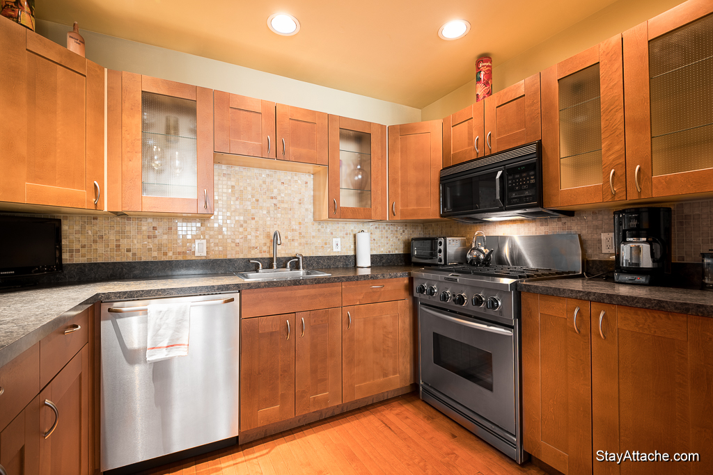 Furnished apartments in Washington DC - kitchen