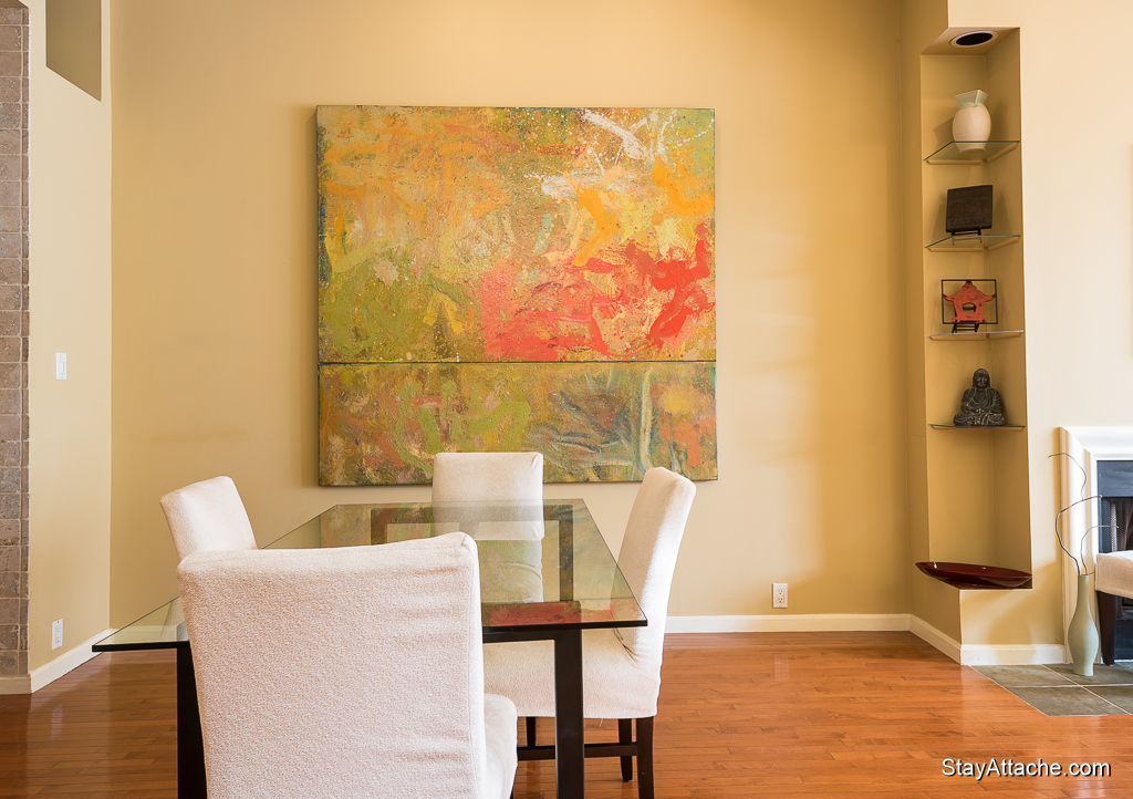 Furnished apartments in Washington DC - living room