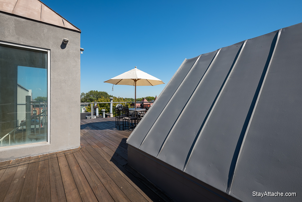 Furnished apartments in Washington DC - roof deck
