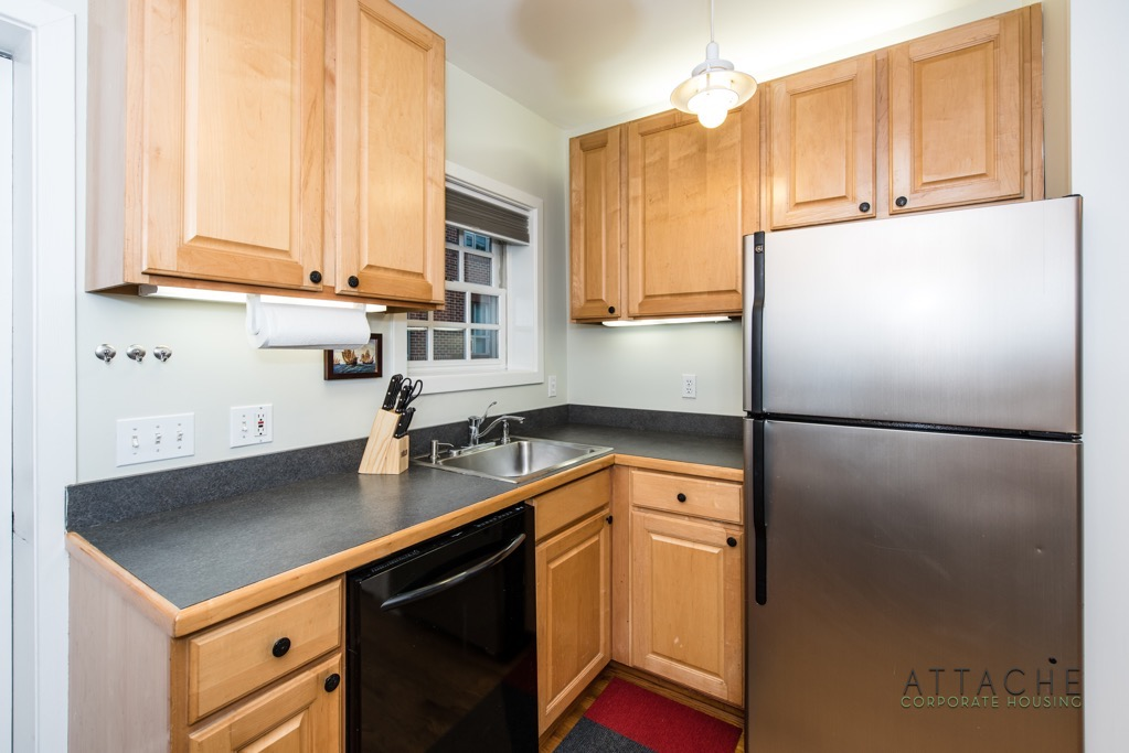 Corporate Housing Washington DC - Kitchen